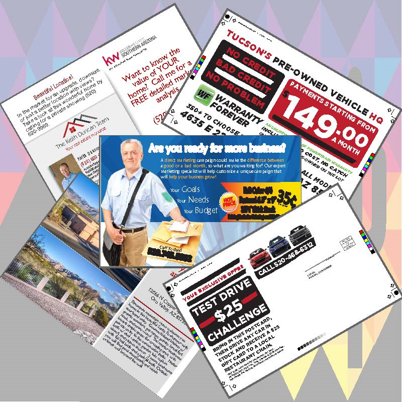 Every Door Direct Mailers (EDDM) & APS Tucsonu0027s Business Printing and Marketing Solutions